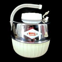 Coleman 1 Gallon Diamond Chrome White Cooler Jug Handle Bras