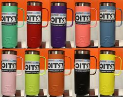 20oz travel coffee cup assorted colors vacuum