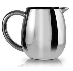 Grunwerg Cafe Ole Everyday Milk Jug 18/10 Stainless Steel Di