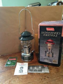COLEMAN Centennial Lantern, Green, New in Box, Never Used