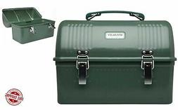 Classic Stanley Green Lunch Box 10 QT Large Metal Vintage Me