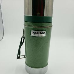 Stanley Classic Green Wide Mouth Thermos Stainless Steel