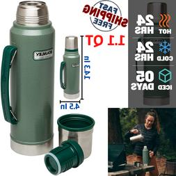 Stanley Classic Vacuum Thermos Bottle Coffee Stainless Steel