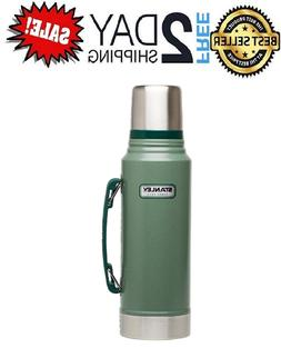 Classic Vacuum Thermos Bottle Coffee Stanley Green Hammerton