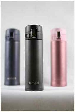 Double Wall Stainless Steel Vacuum Insulated Bottle - One Ha