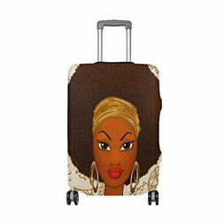 ALAZA Fashion African Women Travel Luggage Cover DIY Prints