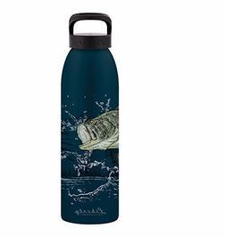 Liberty Bottleworks Fishing Aluminum Water Bottle, Made in U
