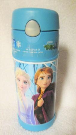 Frozen Thermos 12oz Stainless Steel Beverage Bottle Anna Els