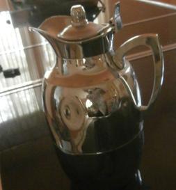 ALFI Glass Vacuum Chrome Plated Thermal Carafe, GLAS NR, 57,