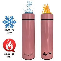 Insulated Travel Mug Stainless Steel Coffee Thermos Leak Pro