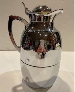 """ALFI Juwel Messing Verchromt 1L Vacuum Insulated Carafe """"S"""""""