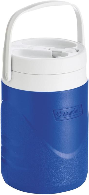 1 Jug Cooler Drink Thermos Blue