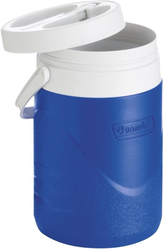 Water Ice Drink Thermos Blue