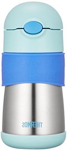 Thermos Vacuum Insulation Baby Straw Mug Ffh-290st Blue