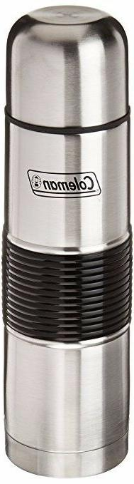 Coleman C01B164 Stainless Steel Vacuum Bottle, 0.5-Liter