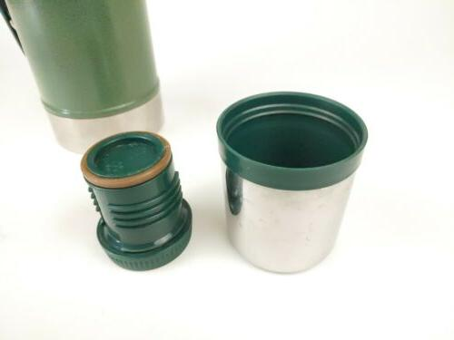 Stanley Classic Thermos Green 1.1 Steel 1 Liter