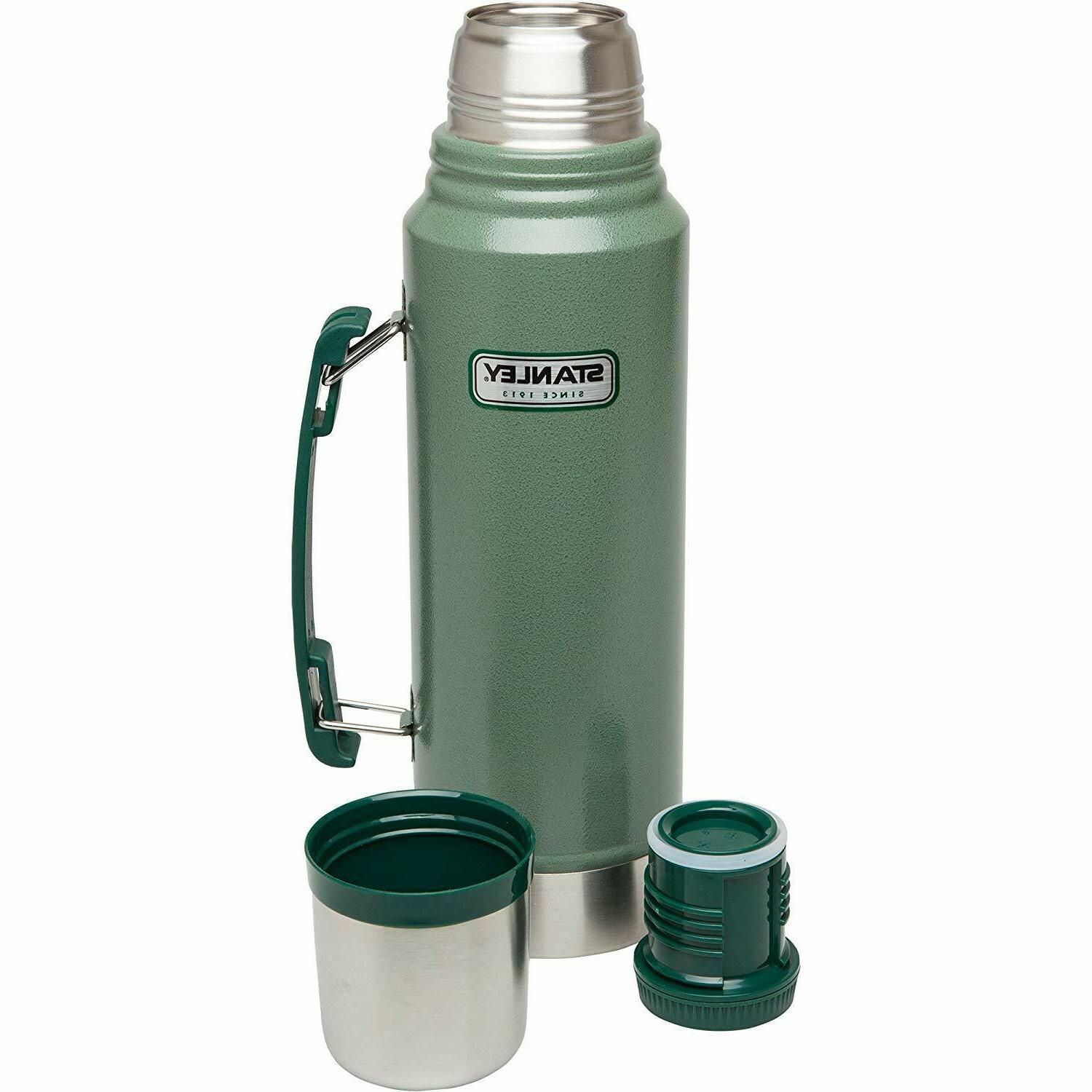 Classic Vacuum Thermos Bottle 1.1 Stainless