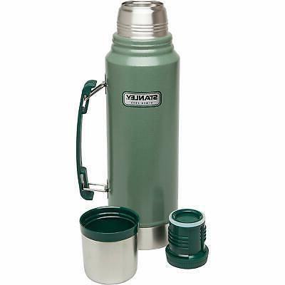 Stanley Vacuum Bottle Hammertone Green 1.1 Qt