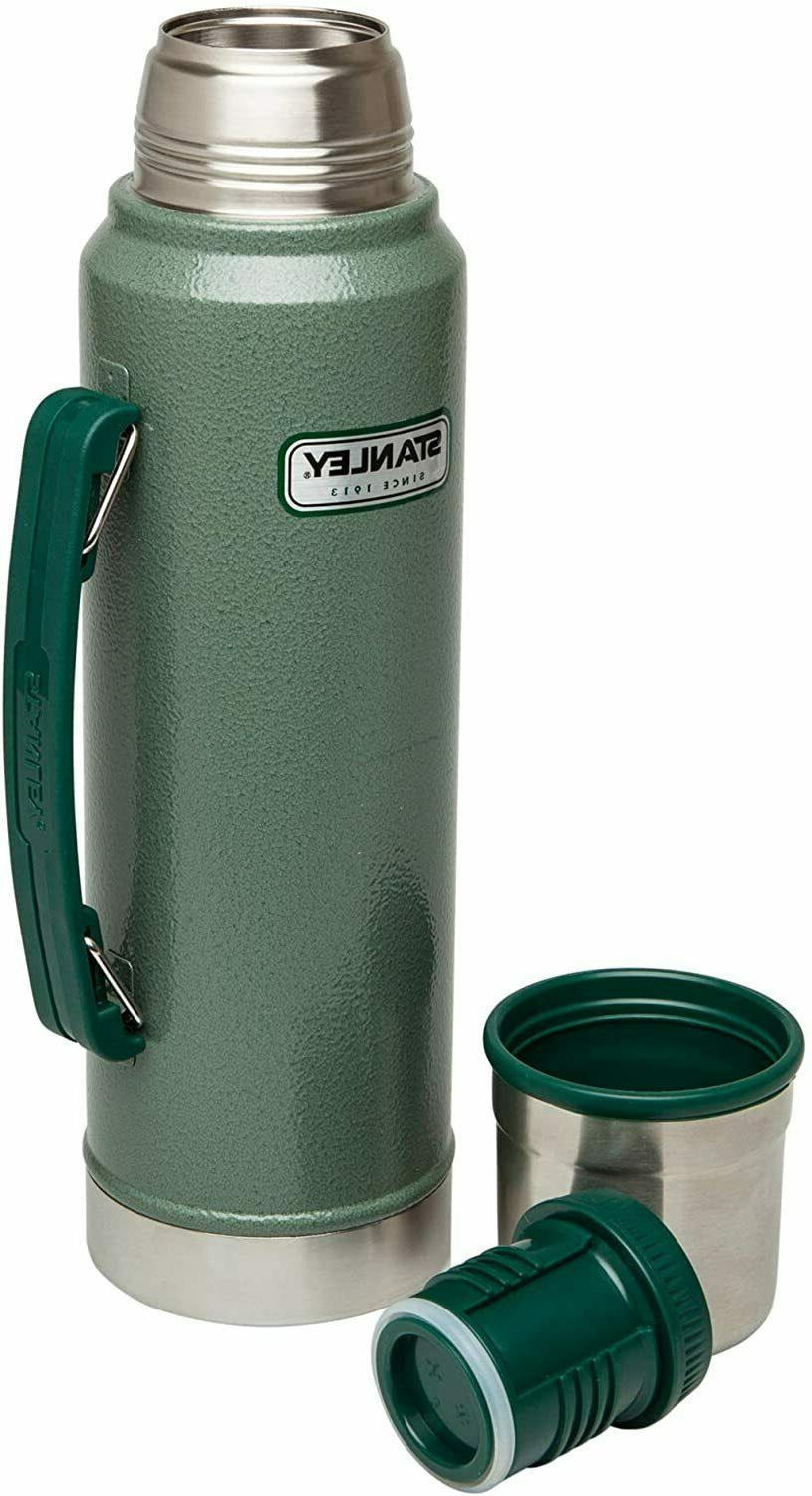 Classic Thermos Bottle Coffee Green Stanley 1.1 Qt Stainless