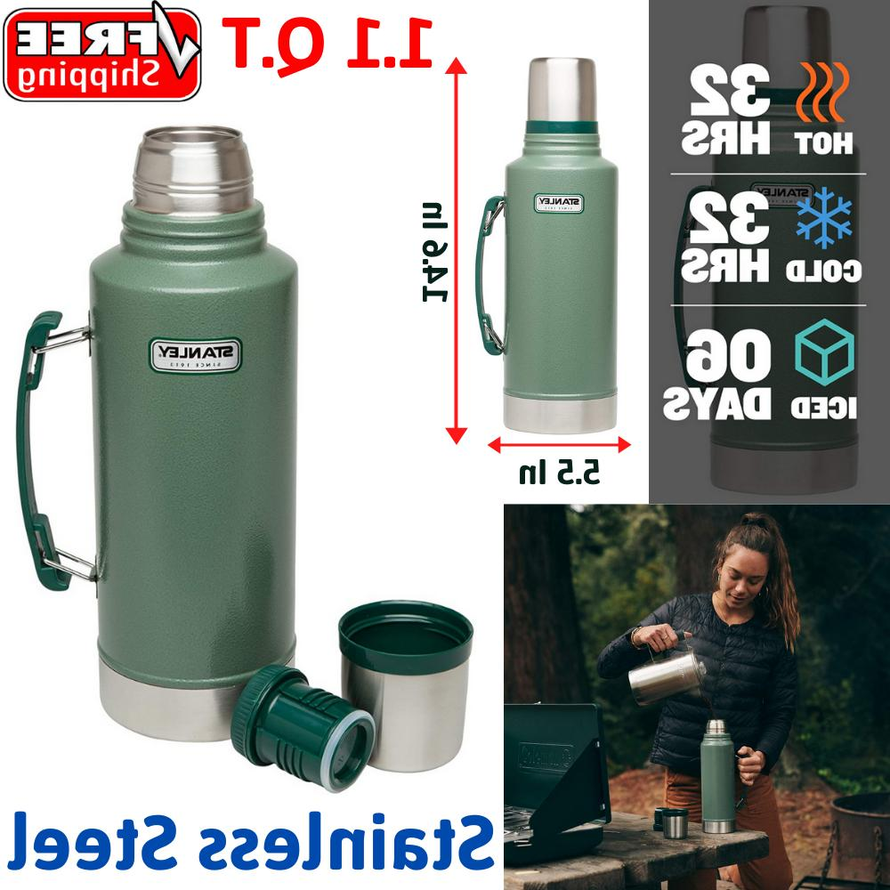 classic vacuum thermos bottle coffee stainless steel