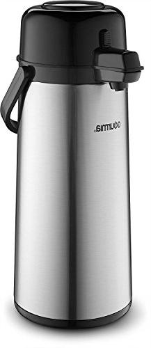 Gourmia GAP9820 Air Pot Thermal Hot & Cold Beverage Carafe W