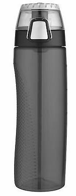 Thermos Hydration Bottle with Meter 24 oz - Smoke - 24 fl oz