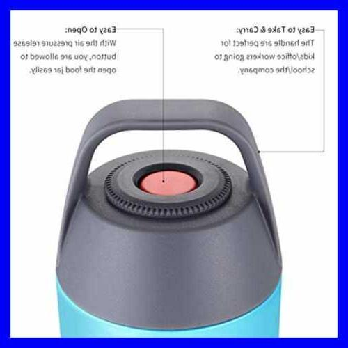 Insulated Lunch Food Cold Stainless Vacuum Box