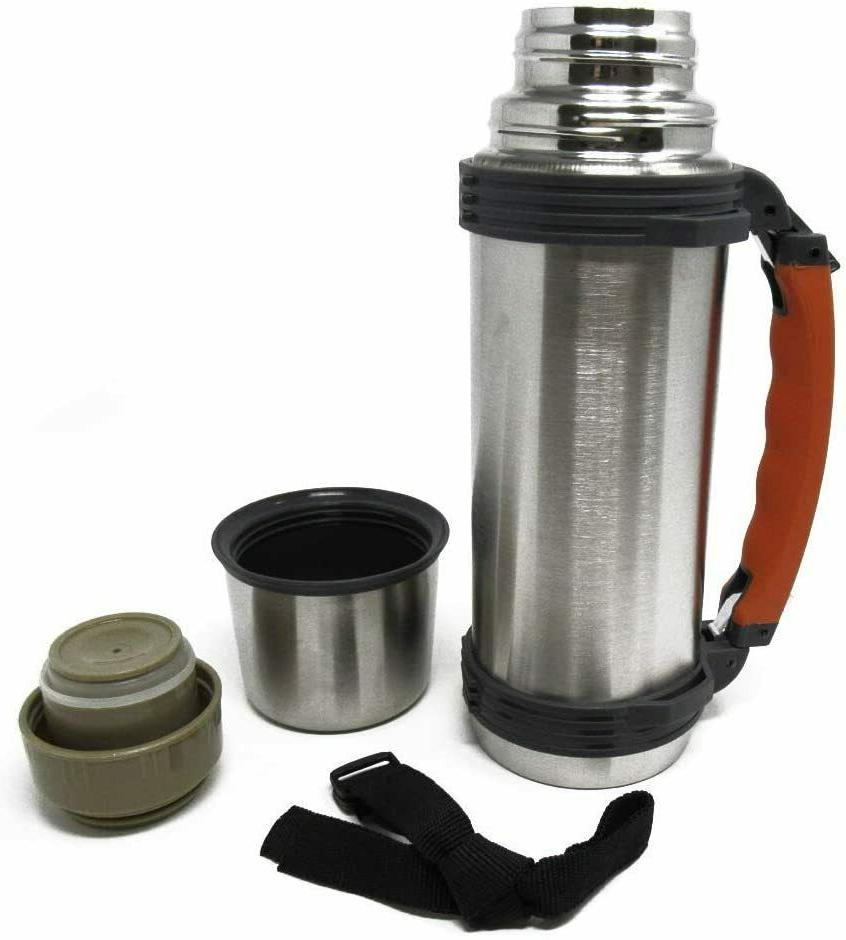 insulated thermos hot cold vacuum insulated retractable