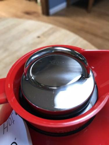 alfi Glass Thermal Carafe for & Made German - RED