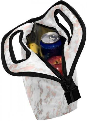 ALAZA Texture Lunch Handbag