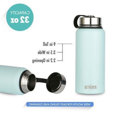 MIRA Vacuum Stainless Water Bottle, oz Blue