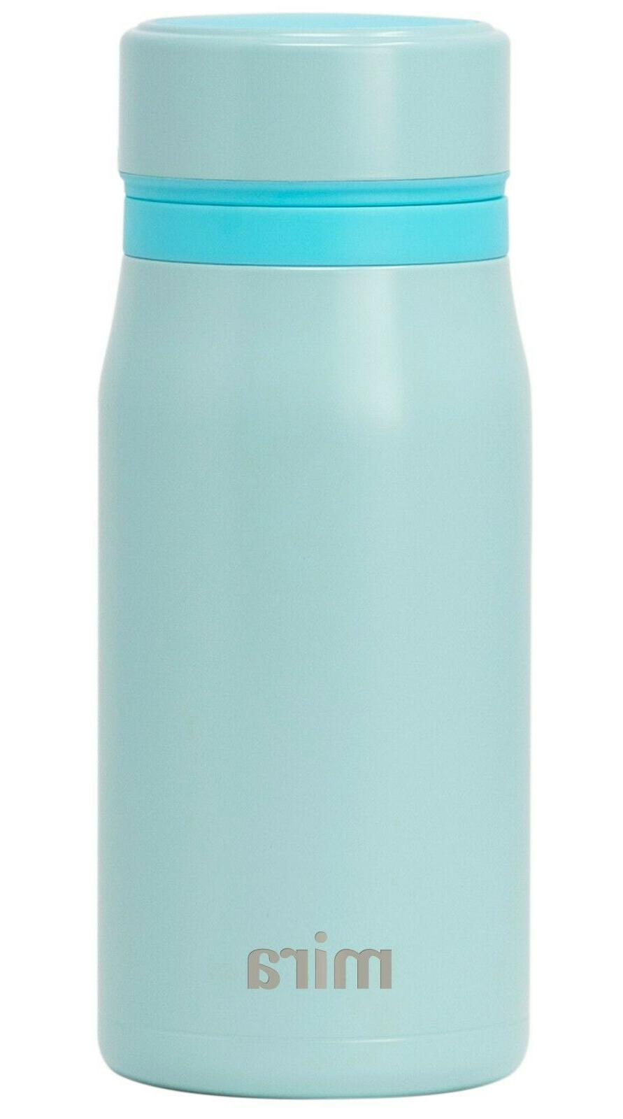 mira insulated small thermos flask kids vacuum