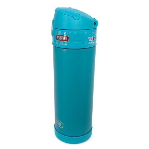 THERMOS Bottle Insulated Steel Spout Aqua