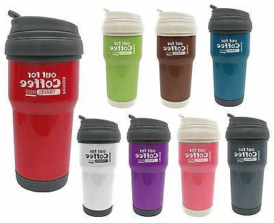 pioneer out for coffee vacuum travel mug