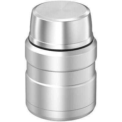 Silver King Food Jar 2-Wall Vacuum-Insulated Folding