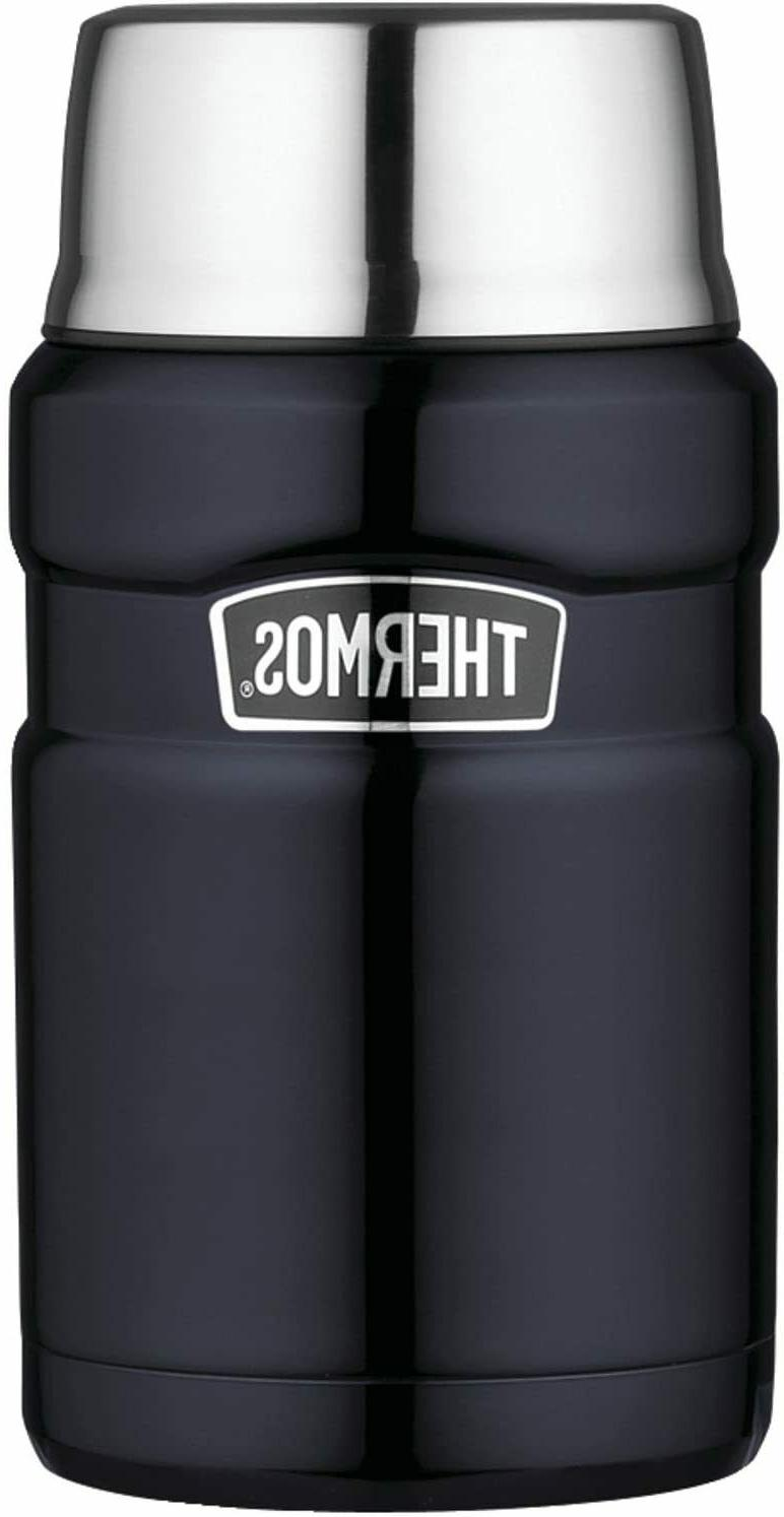 stainless king 24 ounce food jar midnight