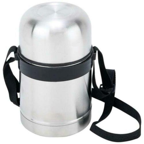 stainless steel 17 oz vacuum soup container
