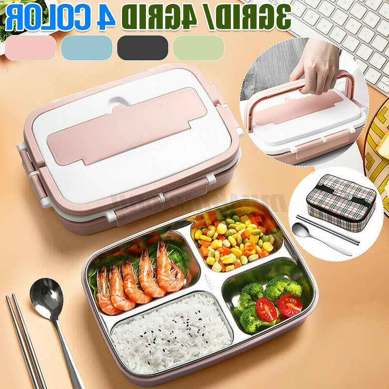 stainless steel thermos thermal lunch box bento