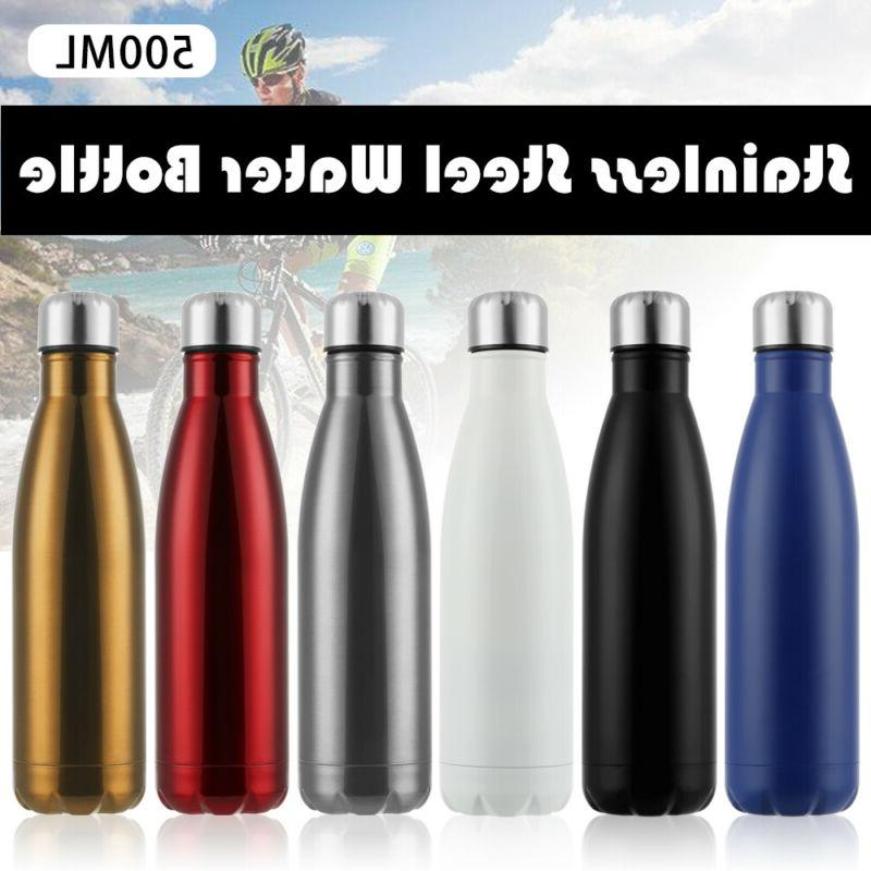 Stainless Thermoses Water Bottle Drink & Dining