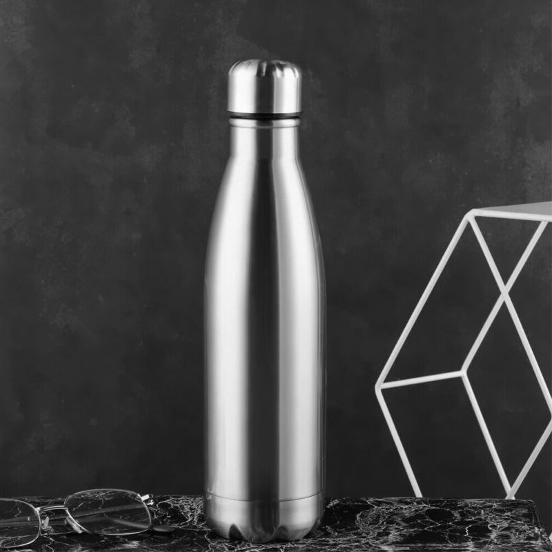 Stainless Steel Water Bottle Drink & Dining