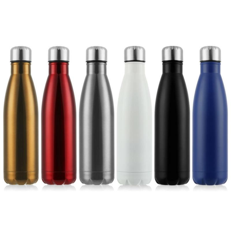 stainless steel thermoses cup water bottle drink