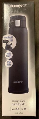 ZOJIRUSHI Stainless Thermal Bottle Mug 20 oz.Hot & Cold,SM-S