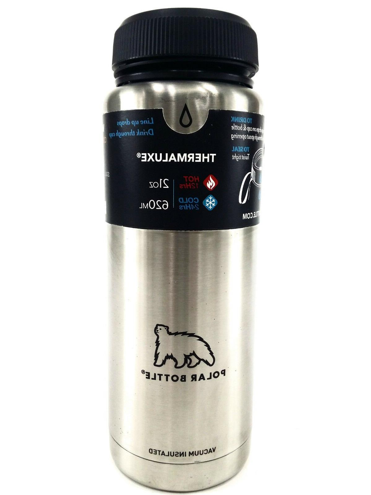 Polar Bottle Thermaluxe Vacuum Insulated Stainless Steel The
