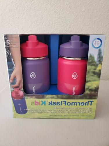 thermo kids 14 oz stainless steel insulated
