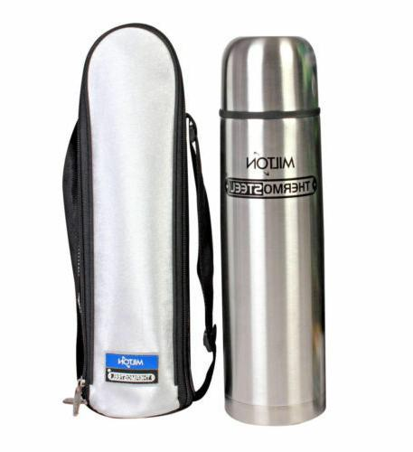 MILTON Thermo steel - 1000 ML Flask HOT AND COLD WITH FLIP L