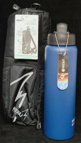 thermo vacuum insulated stainless steel water bottle