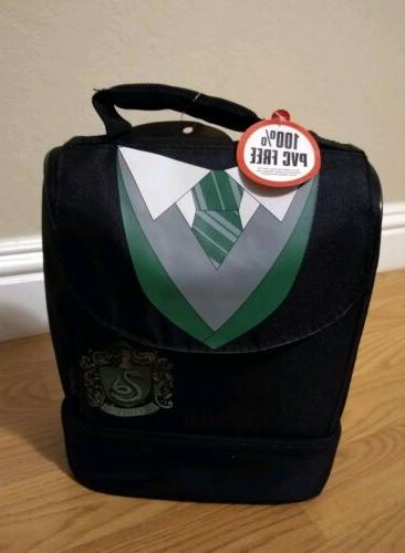 thermos insulated lunch bag slytherin dual compartment