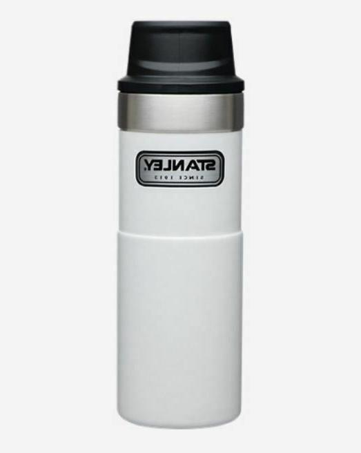 1 Thermos Travel Mug/ Open One-Handed Hand Trigger Hours Hot