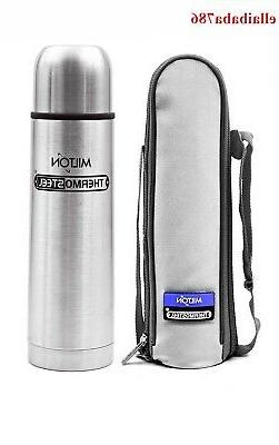 Milton Thermosteel Flip Lid Flask *** 24 Hour Cold & 24 Hour