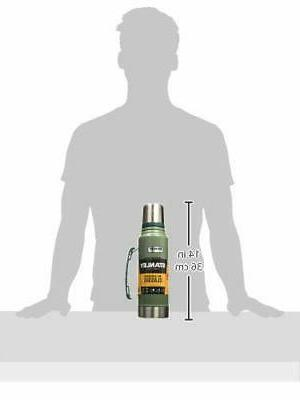 Stanley Classic Vacuum Bottle Hammertone Green Qt